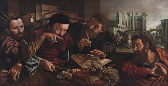 Jan Sanders van Hemessen - The Parable of the Unmerciful Servant, c. 1556