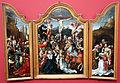 Jan van dornicke, trittico della crocifissione, 1520 ca. 01.JPG