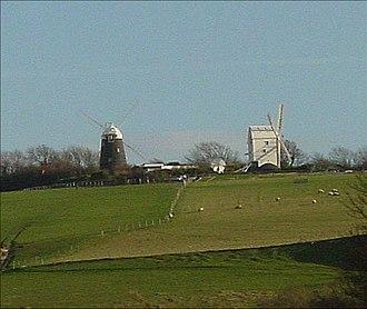 Clayton Windmills - Image: Jandj 2