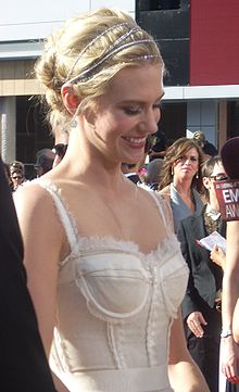 January Jones als premis Emmy (2008)