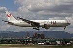 JapanAirlines B767-300 fukuoka 20050925094746.jpg