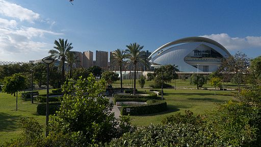 Jardines del Turia. Valencia