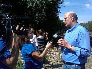 Jay Walder - Image: Jay Walder With Media