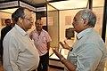 Jayanta Sengupta Visits With Shrikant Pathak And Manash Bagchi - Objects In CRTL Archive Exhibition - NCSM - Kolkata 2018-05-18 0751.JPG