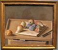 Jean-étienne liotard, frutta su un vassoio, pane e coltello, 1782, 01.JPG