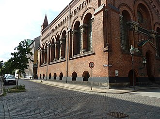 Jerusalem's Church, Copenhagen - Image: Jerusalemskirken side view
