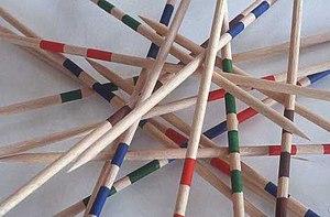 Pick-up sticks - Mikado pick-up sticks