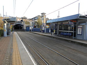 Jewellery Quarter station tram platforms.JPG