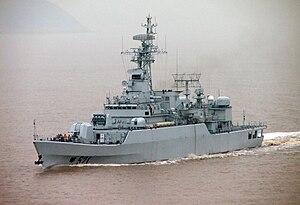 Type 053H3 frigate - Image: Jiaxing 1