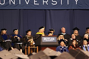 Jill Bolte Taylor - Taylor at the 2016 Butler University commencement, where she received an honorary degree