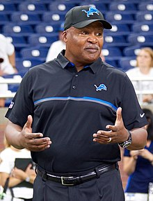 d7357173c7b097 Jim Caldwell was head coach of the Lions for four seasons, his .563 winning  percentage was the best since Buddy Parker (1951–1956).