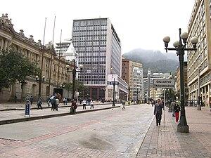 Bank of the Republic (Colombia) - Banco de la República in Bogota at Jimenez Avenue