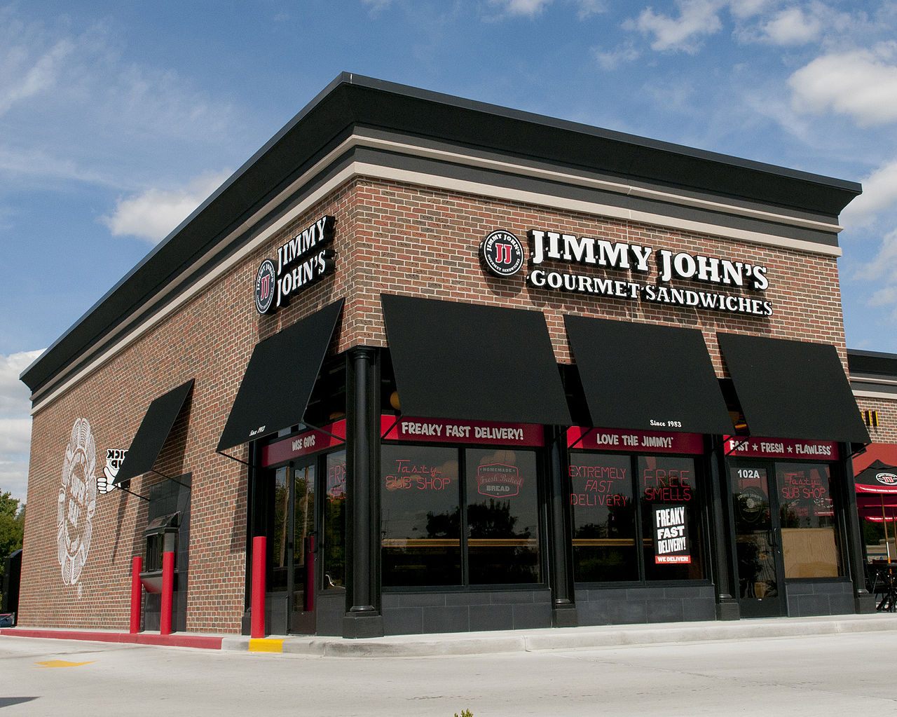 File Jimmy John 39 S Exterior With New Store Design Urbana Wikimedia Commons