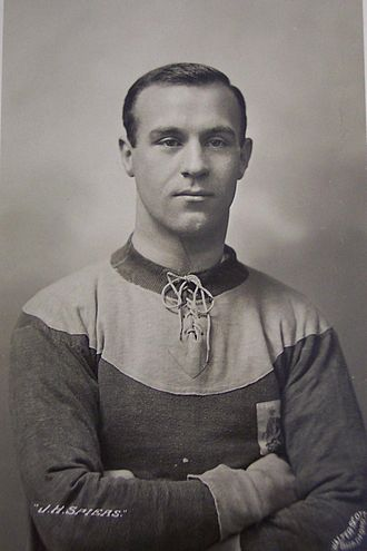 Bradford City A.F.C. - Bradford City's 1911 FA Cup Final winning goalscorer Jimmy Speirs