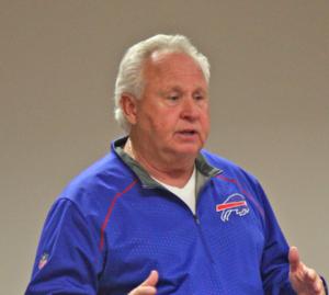 Joe Dickinson - Joe Dickinson speaking at a camp in December 2015.