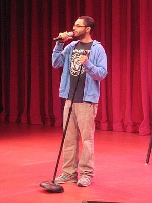 Joe Mande - Performing at Bumbershoot, 2010