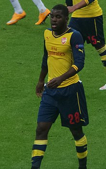 Joel Campbell s Arsenal FC v roce 2004