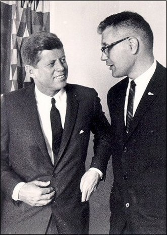 John Dingell - Rep. Dingell with President John F. Kennedy
