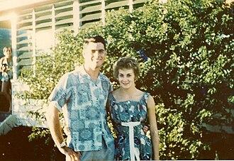 John Devitt - John Devitt and Kaye Nottle in 1956