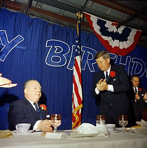 Michael DiSalle - John F. Kennedy attends DiSalle's birthday party