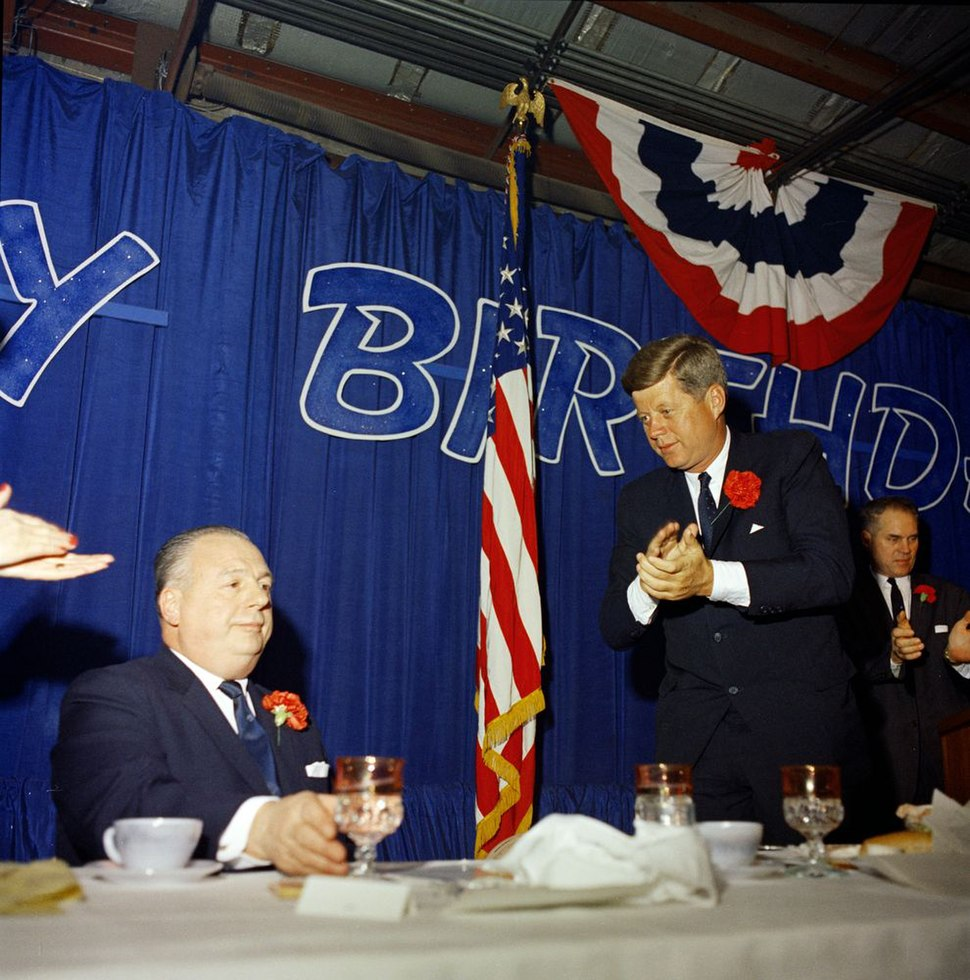 John F. Kennedy Attends Ohio Governor Michael Disalle's Birthday Party JFKWHP-ST-C3-1-62