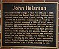 John Heisman plaque, Georgia Tech.jpg