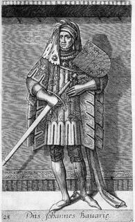 John III, Duke of Bavaria Duke of Bavaria-Straubing and count of Holland and Hainaut
