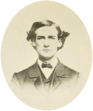 John J. Loud - John J. Loud at Harvard, circa 1866