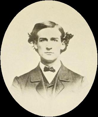 John J. Loud - John J. Loud at Harvard, circa 1866