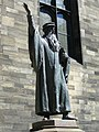 John Knox statue, New College - geograph.org.uk - 1339928.jpg