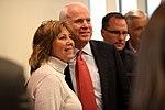 John McCain with supporter (8493461212).jpg