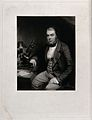 John Thomas Quekett, a distinguished histologist, seated by Wellcome V0044537.jpg