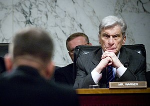 United States Senate election in Virginia, 2008 - Republican Senator John Warner chose to retire after five terms.
