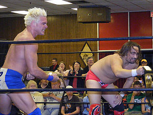 Johnny Punch - Punch (left) teaming with Owen Grachien in 2008