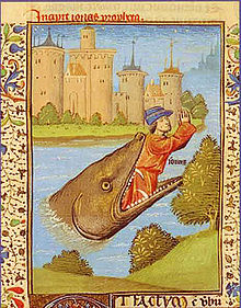 Baleine et mythologie dans BALEINE 220px-Jonas_rejet%C3%A9_par_la_baleine_Bible_de_Jean_XXII