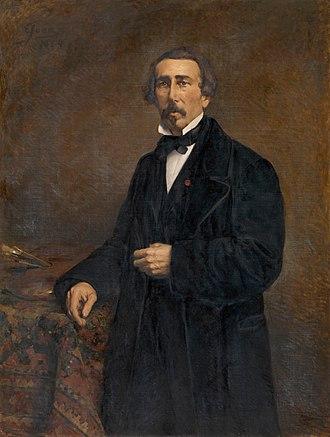 Jacob Jacobs (artist) - Jacob Jacobs, posthumous portrait by Eugène Joors, 1884