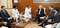 Jose Manuel Garcia-Margallo y Marfil meeting the Union Minister for Urban Development, Housing and Urban Poverty Alleviation and Parliamentary Affairs, Shri M. Venkaiah Naidu (1).jpg