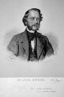 Joseph Unger Austrian jurist and politician (1828–1913)