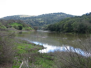Almaden Reservoir - March 2008