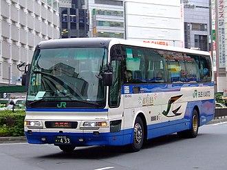 Mitsubishi Fuso Aero Bus - Image: Jrbuskanto momijigo 20070723