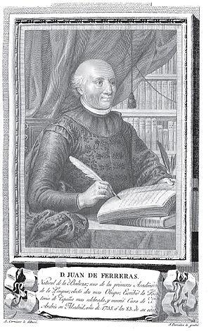 Ferreras, Juan de (1652-1735)