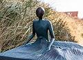 Juist, Skulptur -Strandläufer- -- 2014 -- 3655.jpg