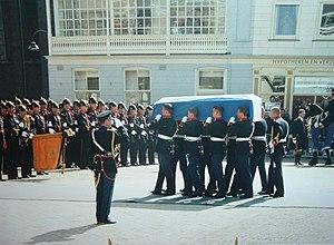 Nederlands: Juliana begrafenis, eigen foto (c)...