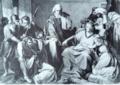 Julius Schrader, Federico II e Pier delle Vigne.png