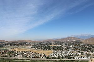 Jurupa Valley, California - Jurupa Valley as seen from Mt. Rubidoux, 2013