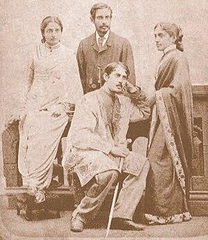 Jyotirindranath Tagore - Jyotirindranath Tagore (Sitting)