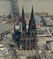 Köln Dom Altstadt Luftbild - cologne aerial (25352304055) (cropped).jpg