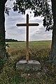 Kříž u cesty k elektrárnám, Brodek u Konice.jpg
