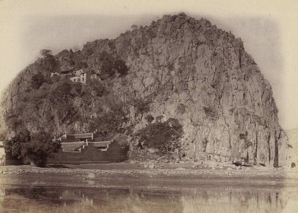 KITLV - 110103 - Marble Hill at Shiuhing, China - circa 1871
