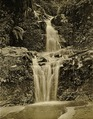 KITLV - 75183 - Kurkdjian, Fotograaf George P. Lewis, aldaar werkzaam - Sourabaya, Java - Waterfall at Tosari in the Tengger Mountains - circa 1920.tif